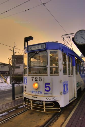 函館の風景Photomatix処理